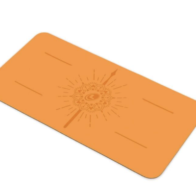 Liforme Yogapad mini oranje happiness 65€