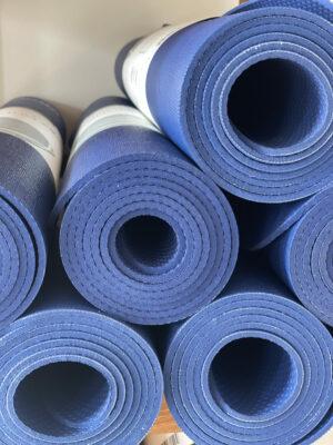 yogamat Calyana blauw 75€