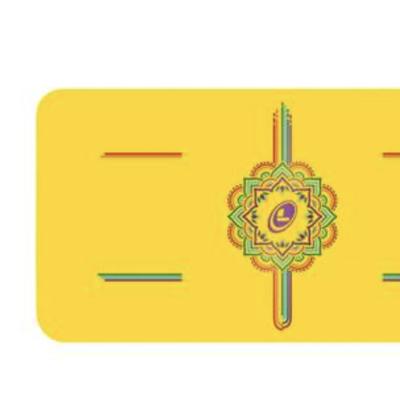 Liforme Yogapad mini Geel Rainbow 85€